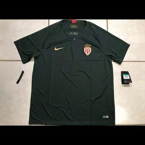 Brand new Nike AS Monaco FC Soccer Jersey